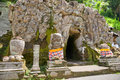 Goa Gajah Temple, Ubud, Bali, Indonesia. Royalty Free Stock Photography