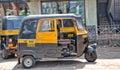 Goa-India bus Royalty Free Stock Photo