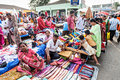 Goa market mapusa india april mapusa friday on april mapusa india mapusa friday is a major weekly in mapusa north Royalty Free Stock Images