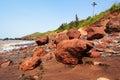 Goa seashore Royalty Free Stock Photo