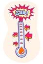 Goal Meter Royalty Free Stock Photo