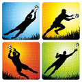 Goalkeepers Stock Photography
