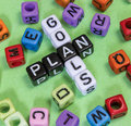 Goals Plan Royalty Free Stock Photo