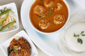 Goan prawn curry is a seafood from goa made up of fresh prawns Stock Photo