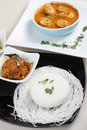 Goan prawn curry is a seafood from goa made up of fresh prawns Stock Photos