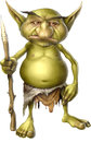 Goblin Warrior Royalty Free Stock Images
