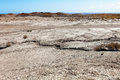 Gobustan mud volcano in azerbaijan qobustan close to baku Stock Image