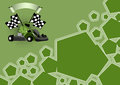 Gocart background Royalty Free Stock Photo