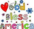 God Bless America Royalty Free Stock Photo