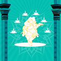 God ganesha Royalty Free Stock Image