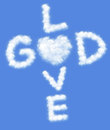 God is love Royalty Free Stock Photo