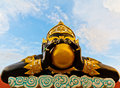 God named Rahu Royalty Free Stock Photography