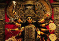 The Goddess Durga Royalty Free Stock Photo