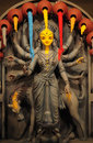 The goddess durga pic of captured during festival called puja in in kolkata west bengal Stock Photo