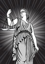 Goddess Themis.Equality .lady justice. court.Law.