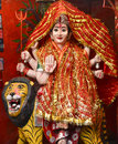 Godess Durga Royalty Free Stock Photo