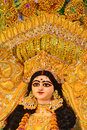 Godess durga indian goddess of shakti Stock Photo