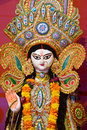 Godess durga indian goddess of shakti Stock Image