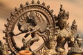 Gods figure bronze at bhaktapur nepal Stock Images