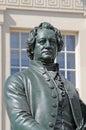 Goethe monument Royalty Free Stock Photo