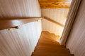 Going down the stairs Royalty Free Stock Photo