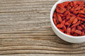 Goji berries (wolfberry) Stock Photography