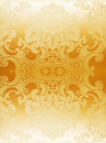 Gold abstract wallpaper Stock Image