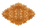 Gold Antique Pendant Isolated ...
