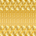 Gold background. Stock Photography