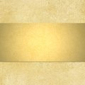 Gold Background With Blank Shi...