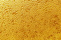 Gold background - drops Stock Photos Royalty Free Stock Photo