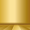 Gold background metal or texture illustration Stock Image