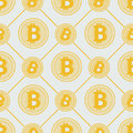 Gold bitcoin pattern cryptocurrency with lines