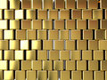 Gold block background Stock Photos