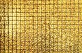 Gold block square seamless pattern Royalty Free Stock Photo