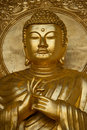 Gold Budha Royalty Free Stock Photo