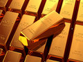 Gold Bullion Stock Image