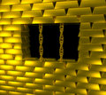 Gold cage Stock Photos