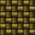 Gold Carbon Fiber Royalty Free Stock Photo