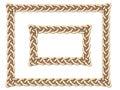 Gold Celtic frame