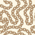 Gold chain pattern Royalty Free Stock Photo