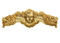 Gold Cherub Crown Ornament Royalty Free Stock Photo