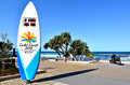 The gold coast commonwealth games surfers paradise sep countdown clock in queensland�s will host st Stock Photos