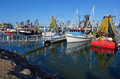 Gold coast fishermen s co queensland australia aus oct fishing trawlers mooring at operative since the selling their Stock Image