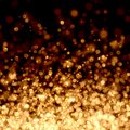 Gold colour bokeh abstract light background illustration Royalty Free Stock Photography