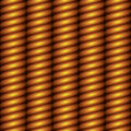 Gold column seamless background Stock Image