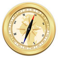 Gold compass Stock Images