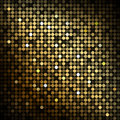 Gold disco lights abstract background Stock Photos