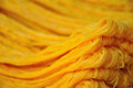 Gold Egg Yolks Thread,Thai Food Stock Image