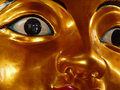 Gold Face Stock Photography